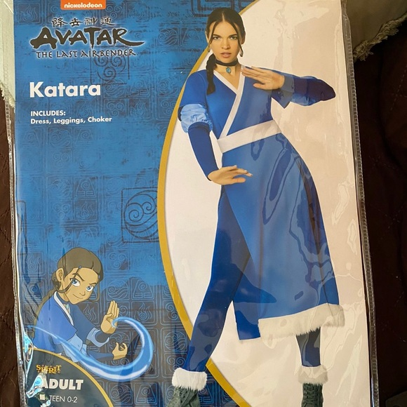Katara From Avatar Last Air Bender Costume